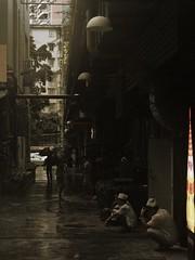 Untitled (ralphrahmer) Tags: rain break chef backstreet artpark yuexiu canton guangzhou