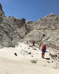 012 Entering A Narrow Canyon (saschmitz_earthlink_net) Tags: 2017 newmexico sanjuancounty angelpeakscenicarea kutzcanyon badlands mudstone