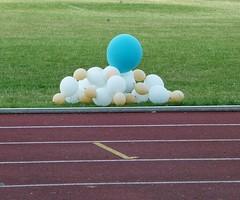 balloons (helenoftheways) Tags: balloons racetrack ladywellarena catford london uk