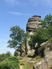 Curbar Edge, Derbyshire (Simon Caunt) Tags: outdoors rocks derbyshire curbaredge rockclimbing peakdistrict baslow geology geological outdoor natural nationalpark whitepeak