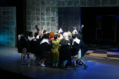 The Imaginary Invalid - Moliere (Ivan Vazov National Theatre Sofia Bulgaria) (thebigbo) Tags: imaginary invalid moliere ivan vazov national theatre sofia bulgaria performance play staging actors selfie group