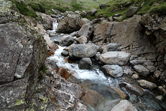 Lingmell beck (Cumberland Patriot) Tags: wasdale head gill lingmell beck stream water valley vale cumbria cumbrian view walk monks trod foot path footpath fell mountain hill peak scree rock rocks rocky english lake district national park green verdant landscape