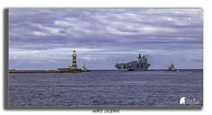 HMS OCEAN (Morty1884) Tags: hms ocean navy ship sea lighthouse roker sunderland northeast andscape canon 6d