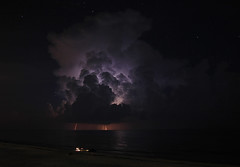 Front Row Seats (lightonthewater) Tags: thunderstorm seagrovebeach storm beach clouds gulfofmexico ocean floridathunderstorm florida