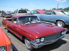 1962 Cadillac Funeral Flower Car (Hugo-90) Tags: monroe washington car auto automobile swap meet flea market vehicle antique classic 1962 cadillac funeral flowercar