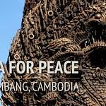 Naga for Peace Statue in Battambang, Cambodia -3 thumbnail