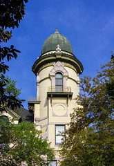 Jail Tower (Eridony (Instagram: eridony_prime)) Tags: savannah chathamcounty georgia downtown jail college constructed1887 scad savannahcollegeofartdesign
