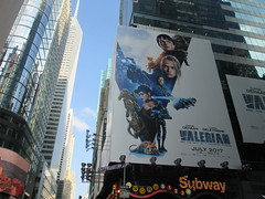 Valerian and the City of a Thousand Planets Billboard Poster 7238 (Brechtbug) Tags: valerian city thousand planets billboard poster times square nyc 2017 french science fiction comics series from 1967 valérian laureline written by pierre christin illustrated jeanclaude mézières film movie directed luc besson new york 06182017