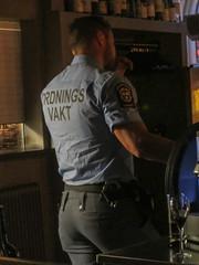 Callipygian security guard, Magnus & Magnus restaurant, Gothenburg, Sweden (Paul McClure DC) Tags: gothenburg göteborg sweden sverige july2015 people restaurant