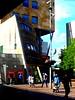 Modern Life (Quetzalcoatl002) Tags: shoppingcenter moderntimes diagonals surroundings architecture amsterdamsepoort zuidoost amsterdam urban shopping