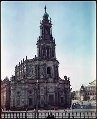 Dresden 2016 XXV (__Daniele__) Tags: dresden saxonia sachsen analogue analog film c41 6x7 makina 67 plaubel 120 medium format mittelformat sredni konica minolta 160