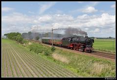 SSN 01 1075 - 38100 (Spoorpunt.nl) Tags: 4 2017 ssn stoom stichting nederland trein 38100 baureihe 01 1075 hulten juni
