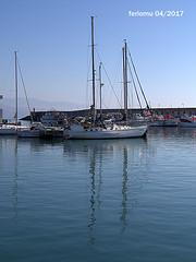 Almería. Roquetas. 14 reflejos.CR2 (ferlomu) Tags: almeria andalucia barco ferlomu mar reflejo roquetasdemar