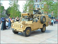 Military Vehicle ... (** Janets Photos **) Tags: uk hull citycentres regiments yorkshireregiment parades army militarydisplays
