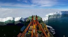 Bow first (Giuseppe Suaria) Tags: antarctica mertz glacier south pole akademik tryoshnikov ice shelf pack antartide banchisa prua bow nave ship research vessell antarctic circumnavigation expedition
