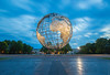 The Globe at Flushing Meadows (Photos By RM) Tags: sunset exposure unisphere globe flushing flushingmeadowscoronapark flushingmeadows earth worldsfair longexposure leebigstopper world queens newyorkcity nyc newyork