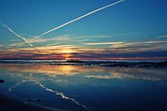 handy (beachbum prints) Tags: sarnia ontario canada sunset lakehuron reflection cloudy x spring greatlakes beach