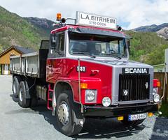 IMG_2605 Scania 141 S42. 1979 mod. (JarleB) Tags: hardangertreffet2017 veteranbil veteranbiler lastebil trucks oldtrucks rullestad rullestadjuvet rullestadaktivfritid scania scaniatrucks oldscaniatrucks scania141