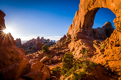 Good Morning Sunshine (CMy23) Tags: absolutelystunningscapes ngc utah arches national park window arch sunrise