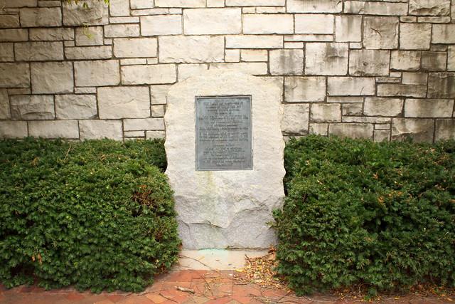 Gen. Toftoy marker - Huntsville, AL