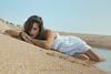 Spiagge... (Cyclope Foto - Sicilia Immagini) Tags: fabiocorselli chantal riserva natura bellezza modella spiaggia fiume abito trasparenza sensuale mare sabbia sicilia