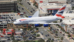 British Airways (G-XLEC) (A Sutanto) Tags: lax klax airport los angeles international ba british airways gxlec a380 a388 airlines plane spotting a2a helispotting aerial sepulveda innout burger airbus