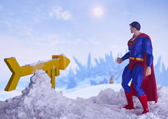 Fortress of Solitude (Brinquedos na Real) Tags: dc comics superman icons toy photography