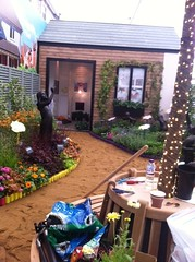 Miracle Gro garden, nearly finished
