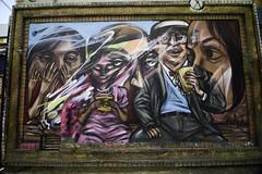 Lunch break (aerojad) Tags: eos canon 80d dslr 2017 city urban art artinpublicplaces streetart publicart mural murals graffiti vacation travel wanderlust graffitialley toronto canada vibrant colorful