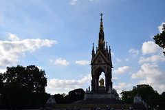 DSC_5197 (photographer695) Tags: hyde park london the albert memorial is situated kensington gardens commissioned by queen victoria memory her beloved husband prince who died typhoid 1861