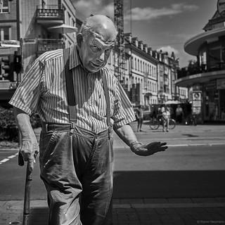 Kaiserslautern Street Mann 5 b&w