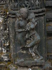 Carving on Amruteshwar Temple (rajkumardongare) Tags: architecture carving temple amruteshwar amruteshvar bhandardara ratanvadi ratanwadi ratangad ratangarh