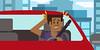 Toyota: O Distraído - cena 04 (Works by Issao Bazolli) Tags: digital vetor vector toyota pinturaexpressa illustration ilustração art desenho characters