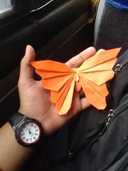 Butterfly - Javier Vivanco (javier vivanco origami) Tags: butterfly javier vivanco origami ica peru mariposa