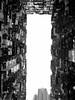 擠迫都市  Crowded apartment buildings (Alice 2018) Tags: bw blackwhite sky huawei city leica p9 mhal29 mobile huaweimate9 mate9 hongkong 2017 architecture asia building blackandwhiteonly favorites30 blackdiamond favorites50 aatvl01 favorites60 aatvl02 3000views aatvl03 aatvl04 quarrybay apartment