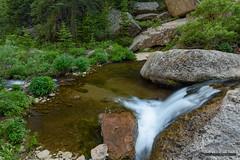 Beaver Creek Cascade (kevin-palmer) Tags: bighornnationalforest bighornmountains paradisefalls wyoming stream creek flowing water northbeavercreek july summer nikond750 tamron2470mmf28 circularpolarizer