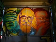 P1370006 (Piterpan23) Tags: paris paris13 streetart batk13 ruetolbiac mèreteresa abbépierre coluche