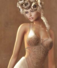 bronzed (Callie Hamelin) Tags: fameshed glamaffair ysys unitedcolors entangled tableauvivant lelutka weloveroleplay