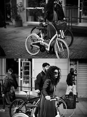 [La Mia Città][Pedala] (Urca) Tags: milano italia 2017 bicicletta pedalare ciclista ritrattostradale portrait dittico bike bycicle nikondigitale scéta biancoenero blackandwhite bn bw 1022