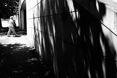 Shadow on the wall (stefankamert) Tags: stefankamert street shadow wall people blurry highcontrast shadowonthewall oldfield noir blackandwhite blackwhite noiretblanc bw baw bnw woman fuji fujifilm x100s x100