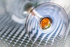 Luminarc France (SonjaS.) Tags: luminarc glas weinglas bottomsup macromondays vonunten macro reflektionen