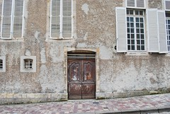 Weathered Windows and Doors (unclebobjim) Tags: bayeux normandy normandie dwwg doubledoors windows shutters tall bassenormandie