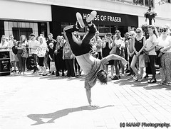 Street dancing in Leeds city centre. ((c) MAMF photography.) Tags: art arty artistic artwork britain blackwhite blackandwhite bw biancoenero blancoynegro blanco blancoenero candid city citycentre d7100 dark dance dancing acrobat england enblancoynegro ennoiretblanc flickrcom flickr google googleimages gb greatbritain greatphotographers greatphoto busker image inbiancoenero images interesting july leeds ls1 leedscitycentre mamfphotography mamf monochrome nikon nikond7100 noiretblanc north noir northernengland negro onthestreet photography photo pretoebranco people photographer photograph person road sex schwarzundweis schwarz street summer town uk unitedkingdom upnorth westyorkshire yorkshire zwartenwit zwartwit zwart