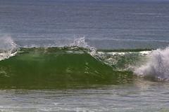 Looking Into the Green 4 (brucetopher) Tags: ocean sea beach wave surf surfing hollow atlantic cold water wet break breaking curl lift breaker crest crash face shallow bar sandbar coast coastal seacoast green blue