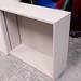 Grey shelf unit comes with shelves E50