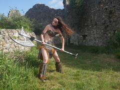 Shooting Skyrim - Ruines d'Allan -2017-06-03- P2090619 (styeb) Tags: shoot shooting skyrim allan ruine village drome montelimar 2017 juin 06 cosplay