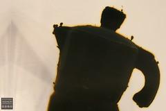 Los Angeles Art Show 2017 (Stephanie_Asher) Tags: losangeles california art fineartmodernartcontemporaryart losangelesconventioncenter canondigitalrebelxti canon50mmf18lens acrylic resin tar poured cast coffeemaker sculpture oil asphalt lucite