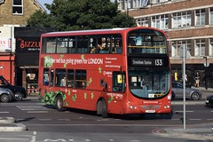 Arriva London Wright Eclipse Gemini bodied Volvo B5LH (HV4 - LJ09 KOH) 133 (London Bus Breh) Tags: arriva arrivalondon thewrightgroup wrightgroup wrightbus wright wrighteclipsegemini volvo volvob5l volvob5lh volvob5lhybrid hybrid hybridbus hybridtechnology hv hv4 lj09koh 09reg london buses londonbuses bus londonbusesroute133 route133 streatham streathamhighroad streathamstation tfl transportforlondon