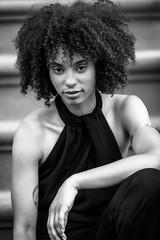 Black Beauty (Litratistica Images NYC) Tags: 70s anaiis sidewalk brooklyn blackgirlmodel models canonef70200mm modeling brownstone newyork unitedstates us canon eos 5d mk2 canoneos5dmk2 litratisticaimages earldolphy