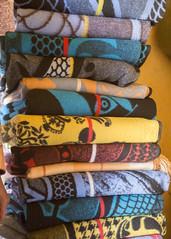Traditional Lesotho blankets (Hans van der Boom) Tags: holiday vacation southafrica lesotho zuidafrika semonkong maseru traditional blankets patterns colourful lso
